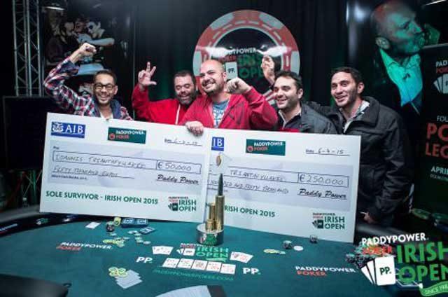 победа на Irish Poker Open
