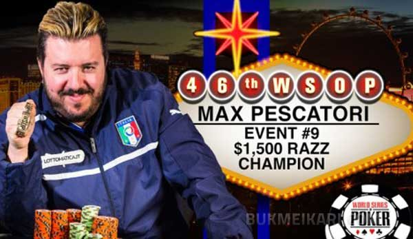 Италианец с втора гривна по покер