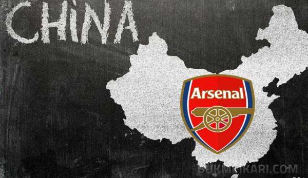 Арсенал партньор на китайска лотария