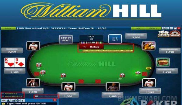 William Hill платформа за спортни залагания