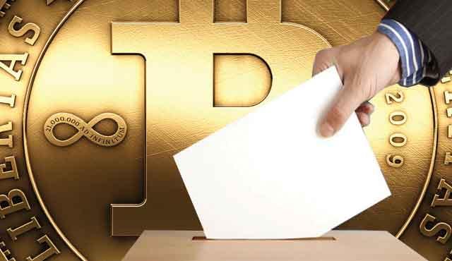 Залозите с биткойни се увеличили покрай изборите в САЩ