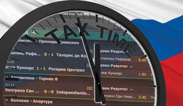 През март, руското правителство обяви данък от 5% върху оборота