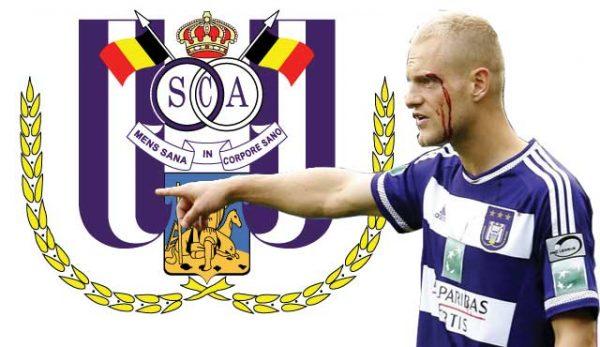 Играч на белгийския клуб Андерлехт Оливие Дешахт бе глобен със 100 000 евро