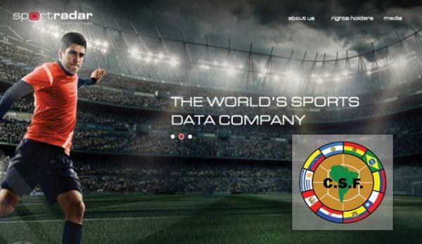 Sportradar сделка с Конфедерасион Судамерикана де Футбол