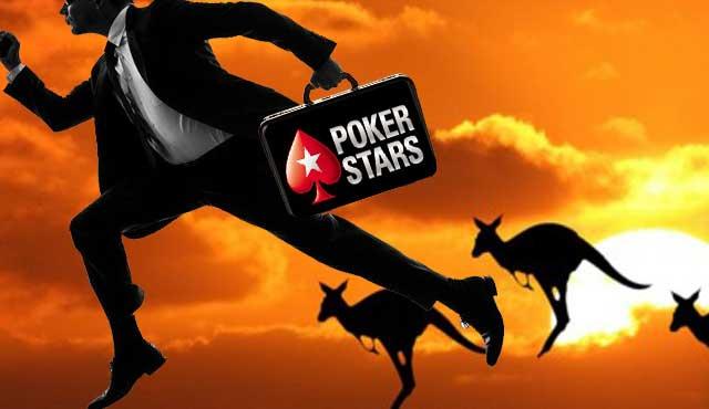 PokerStars възможност на клиентите от Австралия да играят с реални пари