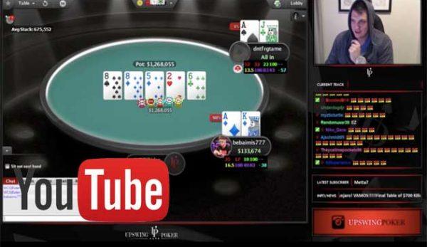 YouTube покер сриим