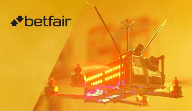 Betfair партньорство с лигата за състезания Drone Racing League (DRL)