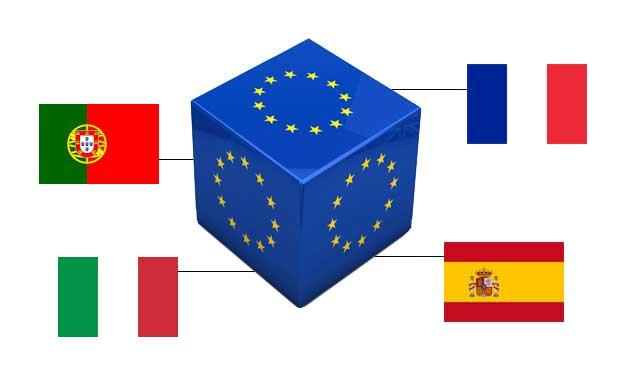 Франция, Италия, Португалия и Испания европейска покер ликвидност