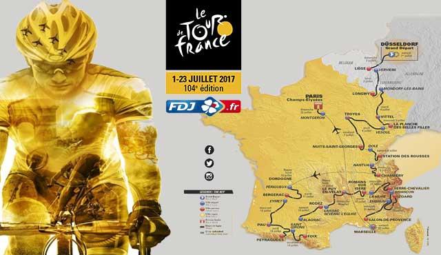 Френски хазартен оператор стана официален спонсор на Тур дьо Франс