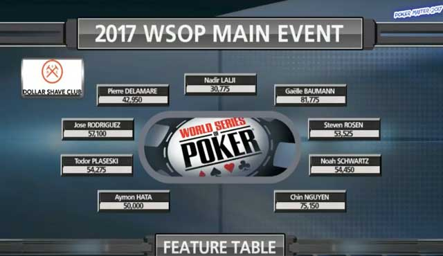 Основното събитие на WSOP 2017 с над 7 000 участници