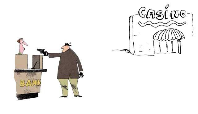 ограбил банка казино
