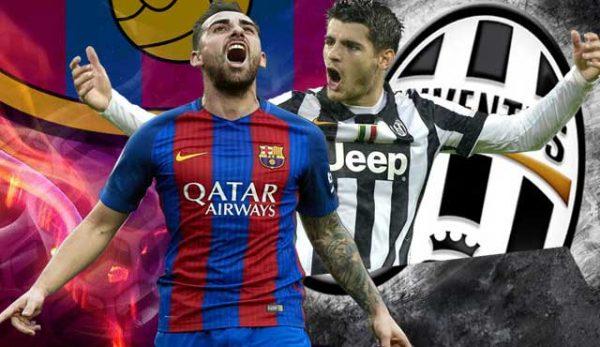 Шампионска лига Барселона и Ювентус