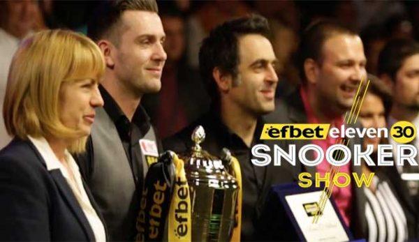 Рони О'Съливан Efbet Eleven 30 Snooker Show Марк Селби