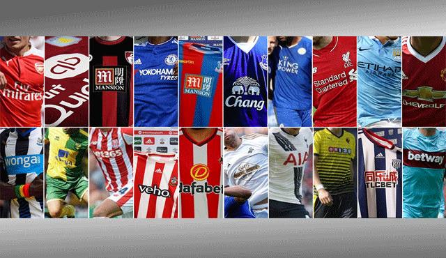 Забрани по екипите на футболни отбори с лого на букмейкари