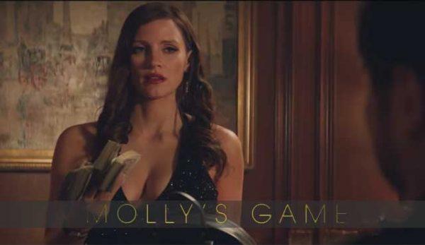 """Покер филмът """"Играта на Моли"""" с позитивни първи отзиви"""