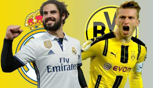 Борусия Дортмунд - Реал Мадрид: Превю и Коефициенти