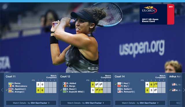 US Open турнира от Големия шлем