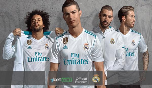 Betcart партньорство с Реал Мадрид