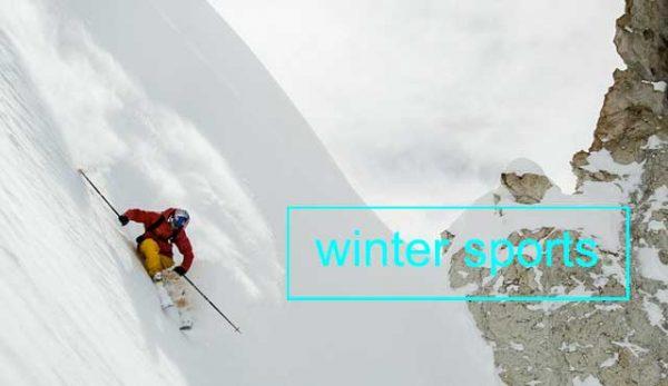 Зимните спортове популярни сред много хора по света