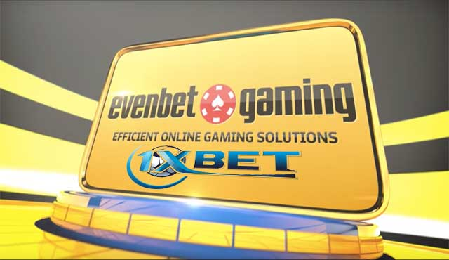 1xBet сключи гейминг партньорство с EvenBet