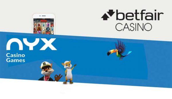 Betfair онлайн казино NYX Open Gaming System
