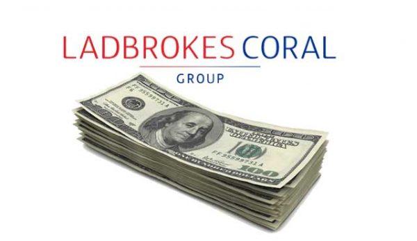 Великобритания глоби Coral и Ladbrokes заради залози с крадени пари
