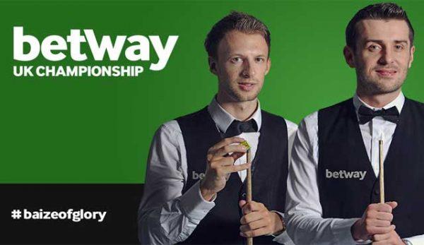 Betway поднови спонсорството си на UK Championship