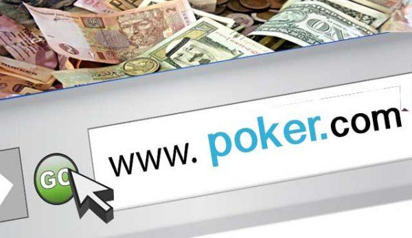 URL poker.com е най-скъпият на аукционната компания NameJet.