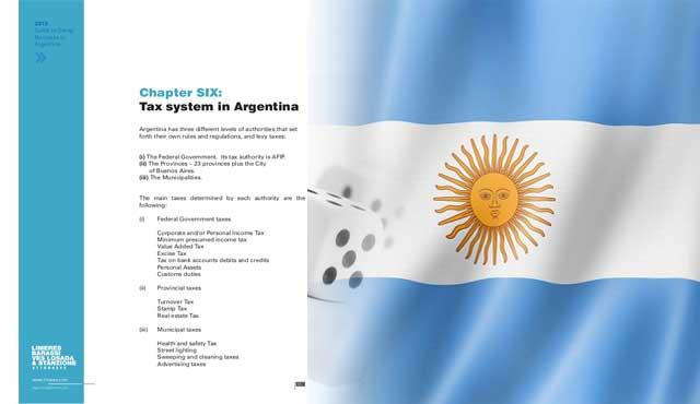 Аржентина данък добавена стойност 27%