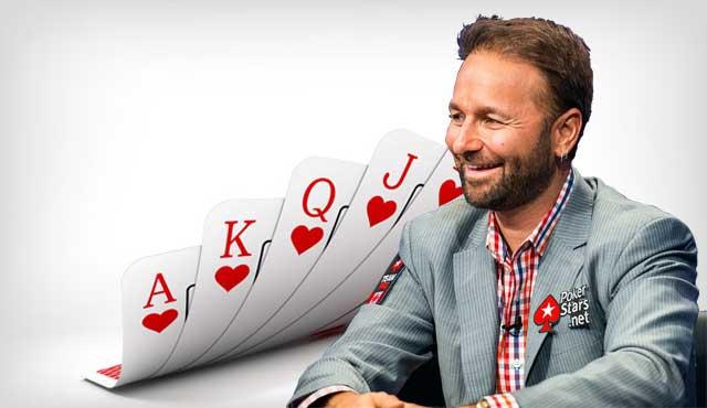 професионалистът Даниел Негреану от покер турнири червения сектор