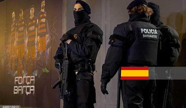 Полицията в Испания спря схема за уговаряне на мачове