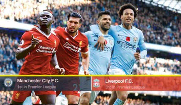 Ливърпул - Манчестър Сити: Залози и Прогноза