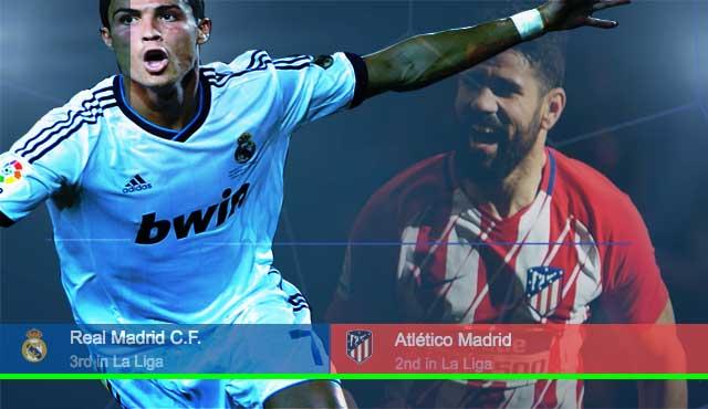 Реал и Атлетико в битка за Мадрид и второто място в Ла Лига