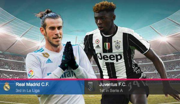 Ювентус - Реал Мадрид: Залози и Прогноза