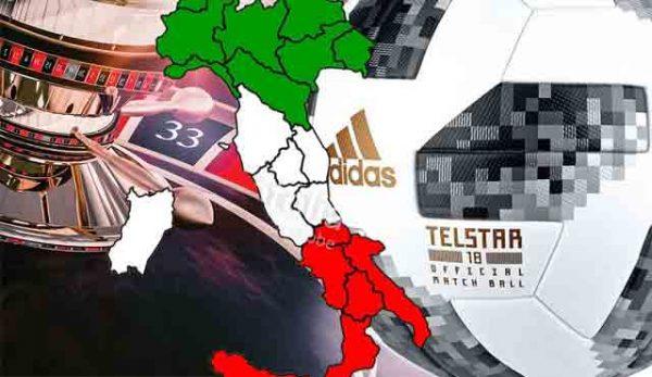 Италианските онлайн спортни залози във възход за разлика от офлайн залозите