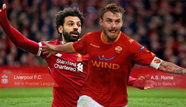 Рома - Ливърпул : Залози и коефициенти