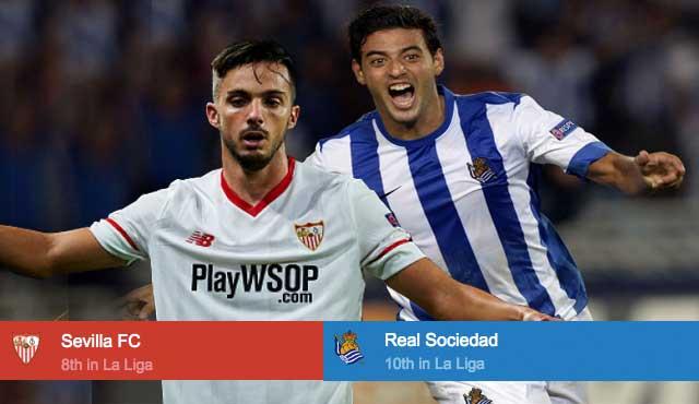 Севилия - Реал Сосиедад: залози за играта