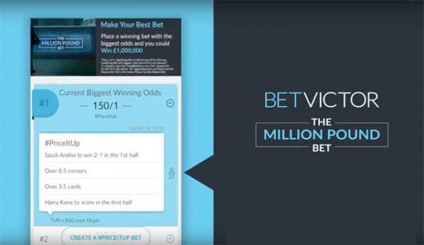 Играч в BetVictor на път да спечели eдин милион паунда от Световното