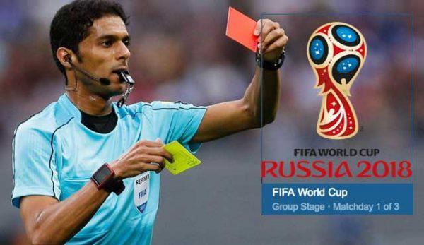 ФИФА отряза рефер за Световното заради уговорени мачове