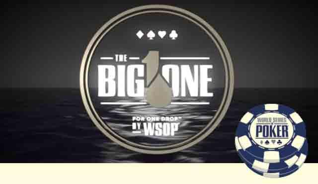 Big One for One Drop wsop е турнирът с най-голямата входна такса в света - 1 млн. долара