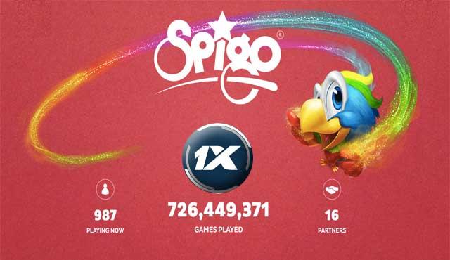 1xBet увеличава портфолиото си с казино игрите на Spigo