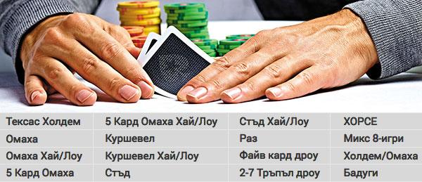 игри в PokerStars