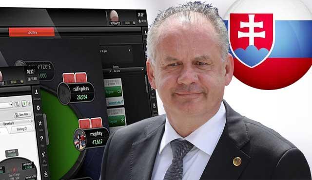 Президентът на Словакия наложи вето на хазартната легализация