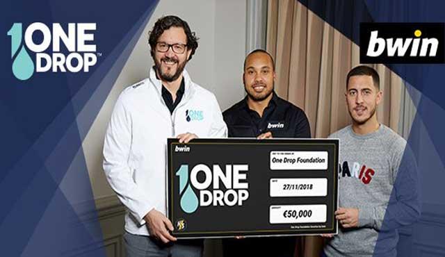 Еден Азар и Bwin събраха €50k за благотворителна фондация