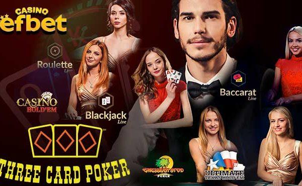 Efbet казино игри на живо