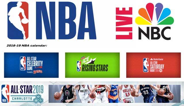 NBC Sports пуска игра с прогнози за мач на НБА. Играта, при залозите на живо