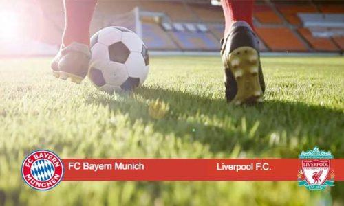 """Шампионската лига Ливърпул и Байерн Мюнхен на """"Анфийлд""""."""