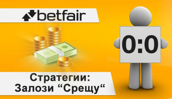 "Betfair Стратегии: Залози ""Срещу"" резултат 0:0"