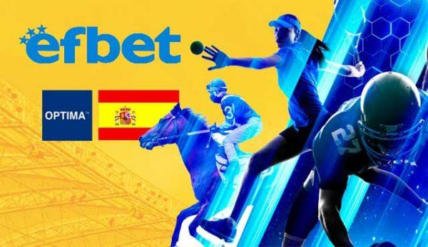 Efbet вече е на пазара в Испания!