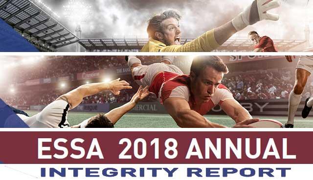 ESSA съмнителни залози през 2018 г. тенисът е половината от тях, докато футболът на второто място съмнителните залози, провели в Испания